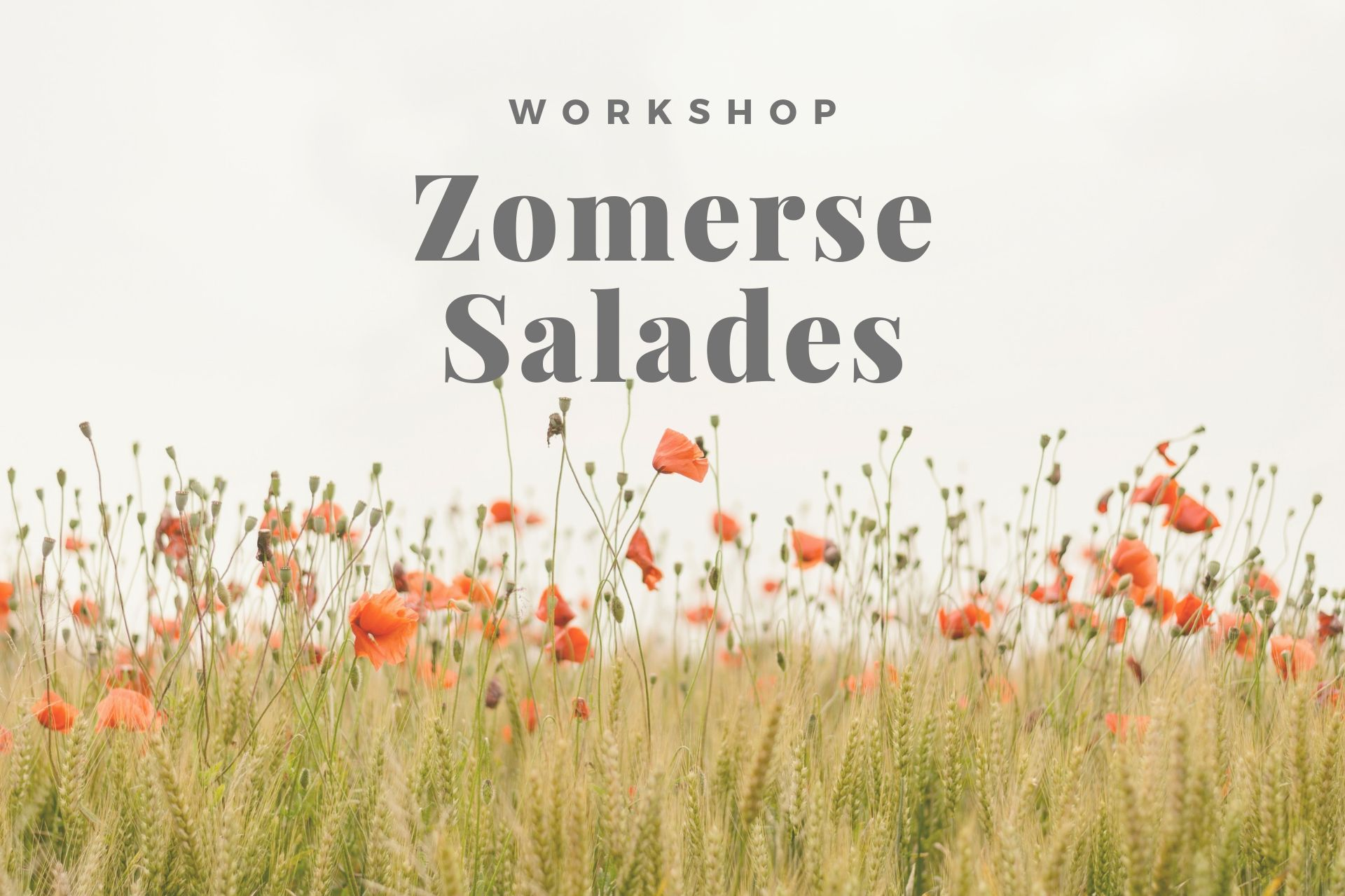 Workshop Zomerse Salades thumbnail