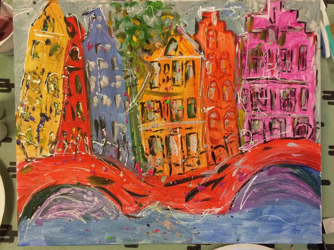 Workshop Grachtenpandjes schilderen thumbnail